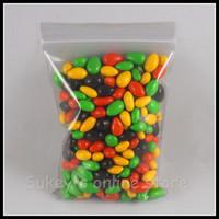 200pcs/lot Plastic packaging bags, PE zipper bag, food bag clear cellophane bags 10x15cm free shipping