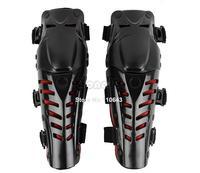 Motocross Protector Motorcycle Motorbike Racing Knee Pads Guard Protective Gear Black&Red B16 TK0760