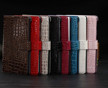 PU case for Google Nexus 7 II 2 crocodile pattern tablet PC stand case cardhold  protective skin flip cover water proof
