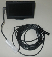 "Free shipping 5M 4.3"" LCD monitor endoscope camera support TF card storage with photo & vedio &display function"
