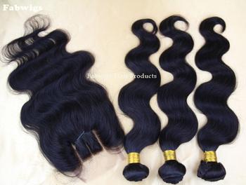 Unprocessed Brazilian Virgin Hair 3pcs Bundles with Lace Closure Brazilian Human Hair Extension Body Wave with 3 Part Closure