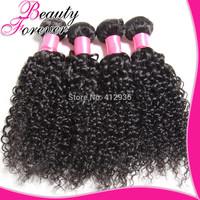 4pcs Lot Jerry Curly Brazilian Virgin Hair Weave, Beauty Hair Products Cheap Brazilian Human Hair Free Shipping BFJC021