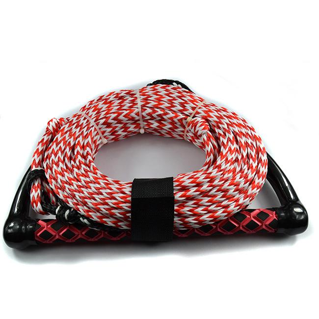PE Performance Monfilament Water Ski Rope Hollow Braided Rope Handle(China (Mainland))