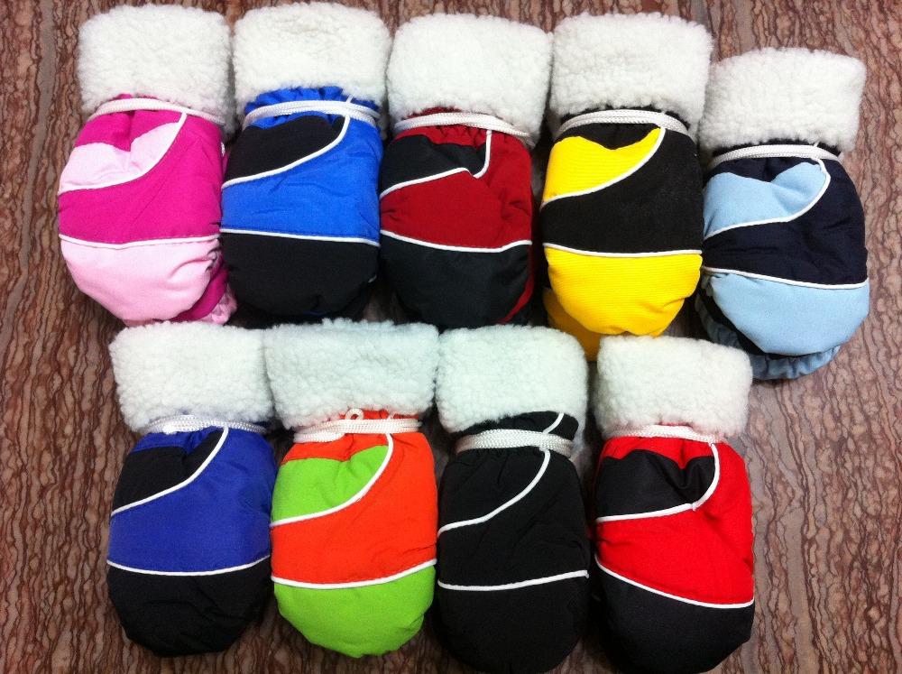 Free shipping winter warm kids&children SKI glove baby/boys/girls glove Waterproof mittens for 3-6 years-old(China (Mainland))