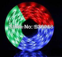Hot SALE12v  RGB 5050 led strip 30LED non-waterproof led strip,5M/lot + 24Keys IR Controller