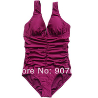Free Shipping Drop Shipping  fashion women swimsuit ruffle bikini monokinis