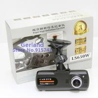 "2014 Newest  LS650W Car DVR Camera Super Night Vision 2.7"" TFT Display  Full HD 1080P   Novatek 96650 Wholesale Free Shipping"