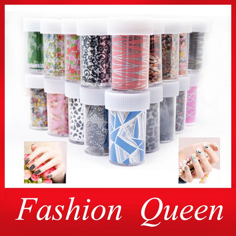 35Designs Nail Transfer Foil Sticker,12pcs/lot Fashion Flower Cartoon Nail Art Decal,Nail Beauty Tips AccessoryDecoration Tool(China (Mainland))