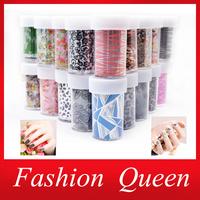35Designs Nail Transfer Foil Sticker,12pcs/lot Fashion Flower Cartoon Nail Art  Decal,Nail Beauty Tips AccessoryDecoration Tool