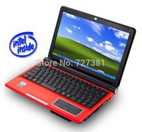Windows 7 Laptop PC Intel Dual Core 10 Inch Notebook PC 2GB RAM office Ultrabook Wifi Internet Russian English Spanish keyboard