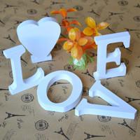 Wooden Letter MR & MRS Free Standing White Colour Letter Craft DIY A-Z 0-9 Wedding Seat Number Desktop Decor 8cm High 6pcs/lot