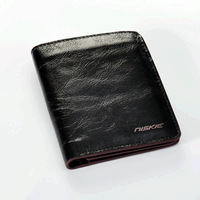 2013 hot selling short fashion design mens Genuine leather wallet holder coin purse for men free shipping