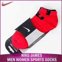 New Hot! Nike-JAMES Men and women cotton sports socks Brand Socks for men, Casual men socks Free Shipping (4 pieces = 2 pairs)