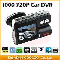Dual Lens Camcorder i1000 Dual Camera Car DVR HD 1080P Dash Cam Black Box With Rear 2 Cam Vehicle View Dashboard Cameras