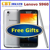 Original Lenovo S960 VIBE X Mobile Phone Cell Phones Quad Core MTK6589 5 Inch 1920x1080 WCDMA 3G Android 4.2 Celular Smartphone