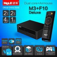 Dual Core Mini PC Android Box MeLE M3 Cortex A7 1GB RAM 4GB ROM 1080P HDMI VGA AV RCA Port WiFi LAN + MeLE F10 Deluxe