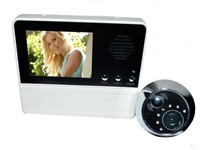 Doorbell3.2'' TFT LCD Screen digital door  PEEPHOLE viewer SECURITY camera  120 Degree Angle view infrared night vision