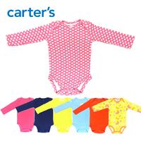 original  baby bodysuits  carters baby girl clothing  Long Sleeve  4pcs /lot    free shipping