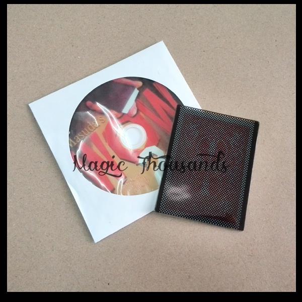 Free shipping Professional close-up plastic white pvc card Wow 2.0 (Face Down Version and DVD) by Masuda magic tricks 1pcs/lot(China (Mainland))