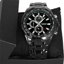 2014 New Curren Watch Men Luxury Brand Watch Fashion Quatz Watch Full Steel Wristwatch 5 Color Free Shipping