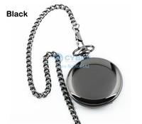 6Pcs/lot New 2014 hot selling Retro Vintage Style Steampunk Quartz Bronze Pendant Chain Clock Pocket Watch 3 colors SV000494