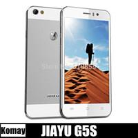 "newest Octa Cores JIAYU G5S G5 MTK6592 1.7Ghz 2G RAM+16G ROM 4.5"" 1280*720 IPS 13MP OGS Gorilla 2 JIAYU mobile phone free ship"
