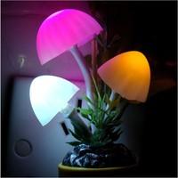 2014 Novelty Modern Sconce Wall Nightlights LED Table Lamp Mushroom Lamp Energy Saving Light b6 19562
