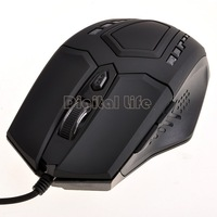 Brand Original 6D Buttons 2400dpi Laser Gaming Mouse USB Wired Professional Game mouse For PC Computer Desktop mice B16 SV004054