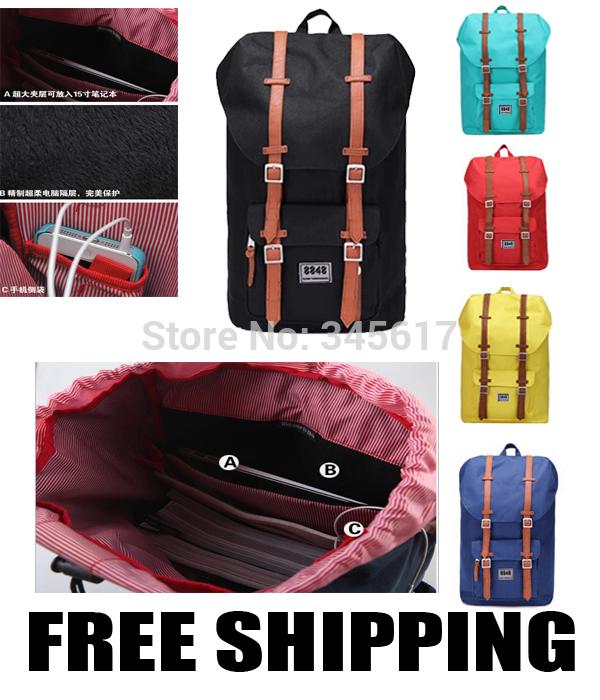 spedizione gratuita Herschel Supply Co zaino stampa viaggio uomini borsa borsa zaino degli studenti donne couputer esterno di qualità buona borsa