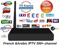 IP2000 HDTV Arabic IPTV Box free watch arabic Live channels MBC Bein Sport Kids smart android tv box better than loolbox