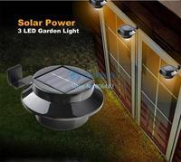 Top Quality Pathway Lamp Solar Panel Garden Light 3 LED Lights Outdoor Home Decor Deft Design Garden Solar Light #3 SV005581