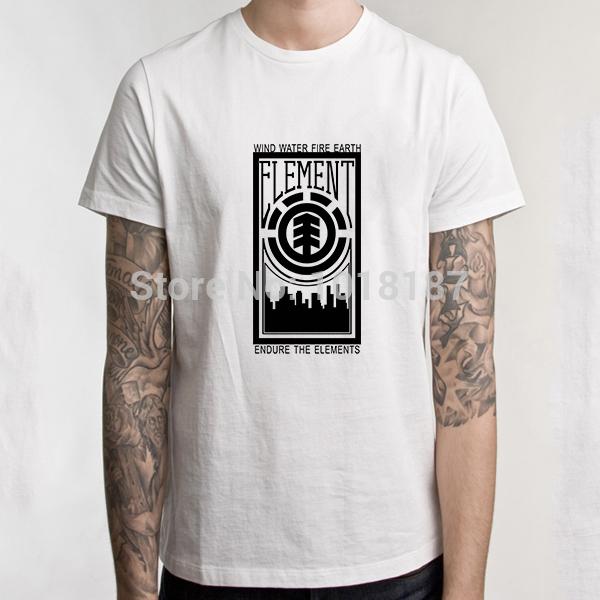 2014 New Element T shirts Fashion Skateboard Street Boy Hip-hop t shirt Cotton Men Clothing(Chin