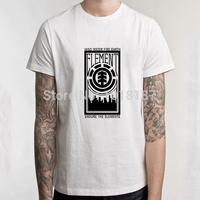 2014 New Element  T shirts Fashion Skateboard Street Boy Hip-hop t shirt Cotton Men Clothing