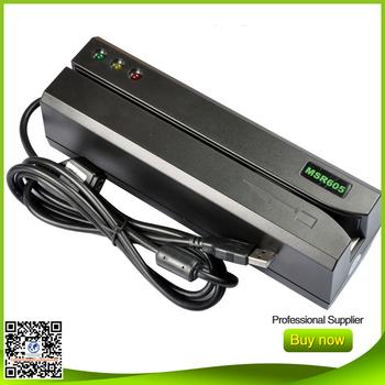 USB magstripe card reader write MSR605 Compatible MSR606 msrx6 msr609 msr206