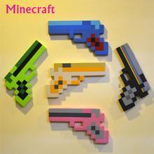 New 2015  Minecraft Toys Minecraft Sword Pickax Axe Shovel Gun EVA Toys Model Toys Gifts For Kids Brinquedos Birthday Gifts(China (Mainland))