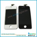 Free shipping for iPhone 4 4G LCD Display+Touch Screen Digitizer +Frame,white and black,100% gurantee(China (Mainland))