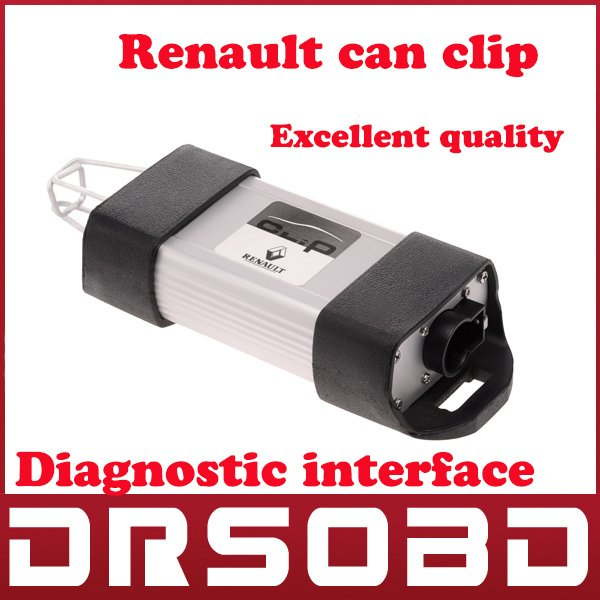 2013 Newest support multi-languange Car Diagnostic tools Renault Can Clip v124 Auto Diagnostic interface(China (Mainland))
