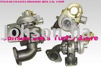 TF035/49135-02652 MR968080 Turbocharger for Mitsubishi L200,Pajero3,Shogun 01-07,Engine:4D56 2.5L 115HP