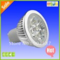 FREE SHIPPING 10pcs/Lot 5W GU10 LED Spotlight , gu10 led bulb with 2 years warranty, CE RoHs approved