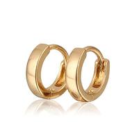 Aliexpress Sale 18K Gold Plated Hoop Earrings For Girls/Children Earring New 2014 Fashion Free Shipping (E18K-82)