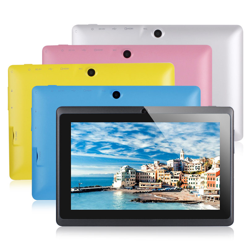 NEW 7 inch android 4.0 Capacitive Screen 512M 8GB / 4GB Camera WIFI Q88 allwinner a13 tablet pc(China (Mainland))