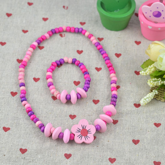 HOT!The children's gift!Wholesale children/kid jewelry set Young necklace bracelet Lovely tone N CS02(China (Mainland))