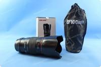 Free Shipping-Newest  Camera Lens Coffee Cup Flower Shape Cover Coffee Mug EF 100mm Long Lens Mug Novelty Gift