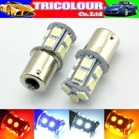 4x 1156 382 BA15S p21w 1157 BAY15D p21/5w bay15d PY21W led light bulb 13 smd 5050 Brake Tail Turn Signal Light Bulb Lamp 12V red