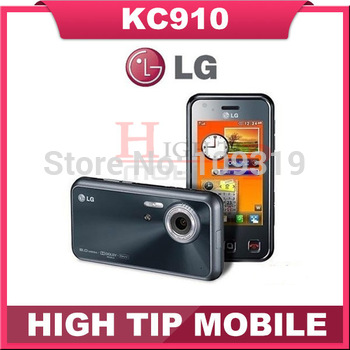 Original LG Brand Phone KC910, WIFI GPS Cell Phone, Unlocked phone free shipping Refurbished