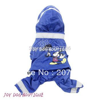Fashion Cartoon Style Dog Raincoat with Pants, Great Quality!