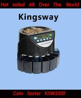 Popular!!! KSW550F--- Kingsway Professional Coin Sorter&Counter Machine