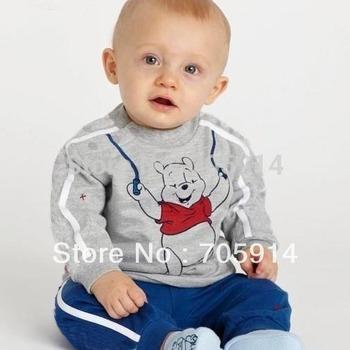 A107# Free Shipment Fashion Boy's Suit,Shirts+Pants Wholesales 3set/lot