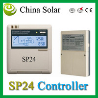 Intelligent solar water heater controller SP24,Thermal solar heatingsystem controller 110/220V,LCD Network Fuction