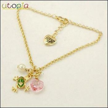 BJ Fashion Ankle Bracelet Anklets Jewelry Include Ankle Leg Ring For Foot Bracelet Ring  --Frog #NR330